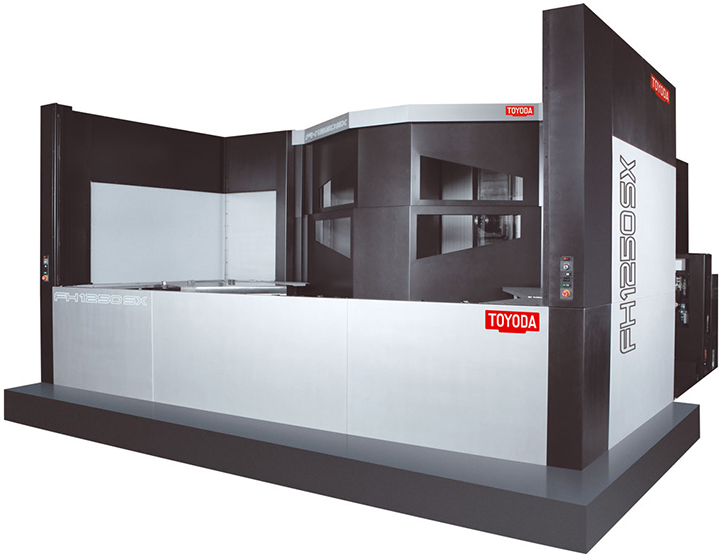 Toyoda FH1250SX Closed-MAGS Machinery And Global Service